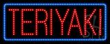 Teriyaki Animated LED Sign