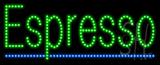 Espresso Animated LED Sign