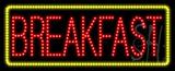 Breakfast Animated LED Sign