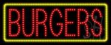Burgers Animated LED Sign