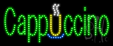 Cappuccino Animated LED Sign