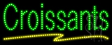Croissants Animated LED Sign