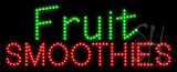 Fruit Smoothies Animated LED Sign