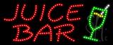 Juice Bar Logo Animated LED Sign