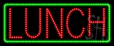 Lunch Animated LED Sign