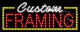 Custom Framing Animated LED Sign