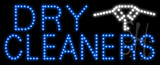 Dry Cleaners Logo Animated LED Sign