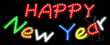 Happy New Year Animated LED Sign