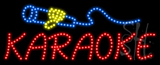 Karaoke Logo Animated LED Sign