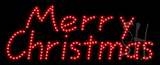 Merry Christmas Animated LED Sign