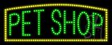 Pet Shop Animated LED Sign