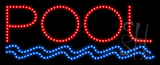 Pool Animated LED Sign