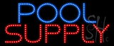 Pool Supply Animated LED Sign