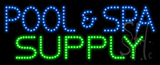 Pool and Spa Supply Animated LED Sign