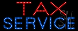 Tax Service Animated LED Sign