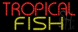 Tropical Fish Animated LED Sign