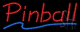 Pinball Animated LED Sign