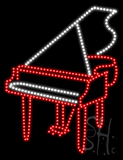 Piano Animated LED Sign