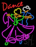 Dance Animated LED Sign