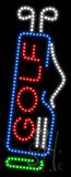 Golf Animated LED Sign