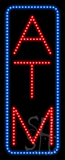 ATM (vertical) Animated LED Sign