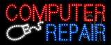Computer Repair Animated LED Sign