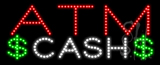 ATM Cash Animated LED Sign
