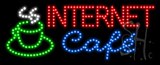 Internet Cafe Animated LED Sign