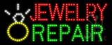 Jewelry Repair Animated LED Sign