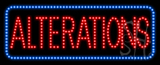 Alterations Animated LED Sign