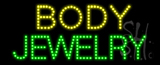 Body Jewelry Animated LED Sign