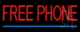Free Phone Animated LED Sign