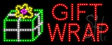 Gift Wrap Animated LED Sign