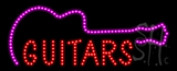 Guitars Animated LED Sign