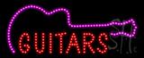 Guitars Animated LED Sign