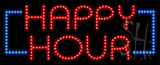 Happy Hour Animated LED Sign