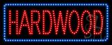 Hardwood Animated LED Sign