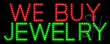We Buy Jewelry Animated LED Sign