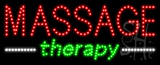 Massage Therapy Animated LED Sign