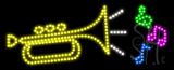 Music logo Animated LED Sign