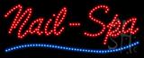 Nails-Spa Animated LED Sign