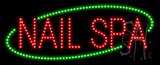 Nails Spa Animated LED Sign