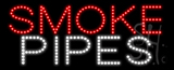 Smoke Pipes Animated LED Sign
