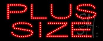 Plus Size Animated LED Sign