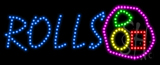 Rolls Animated LED Sign