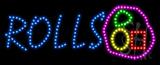 Rolls Animated LED Sign