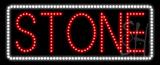 Stone Animated LED Sign