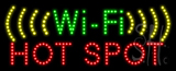 Wi-Fi Hot Spot Animated LED Sign