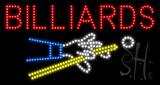 Billiards Animated LED Sign