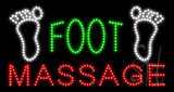 Foot Massage Animated LED Sign